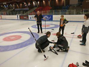 Børnefødselsdag i Aarhus Curling Klub