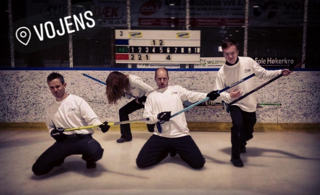 Aarhus All Stars rocker curling turnering i Vojens