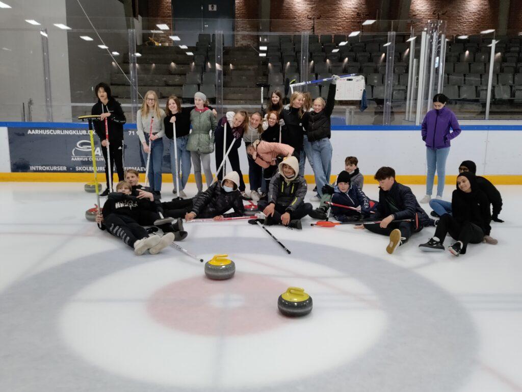 Skolecurling - Aarhus Curling Klub